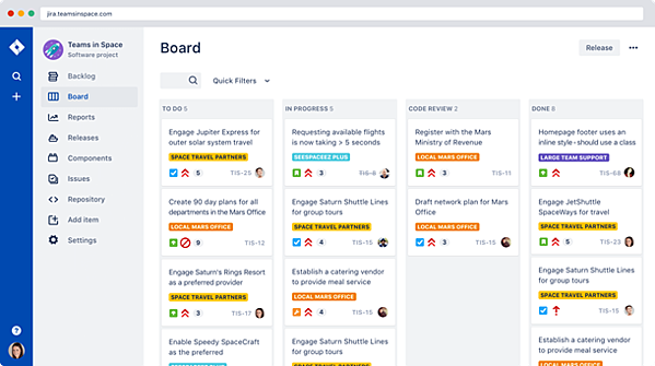 Track: Prioritize and discuss your team's work in full context with complete visibility